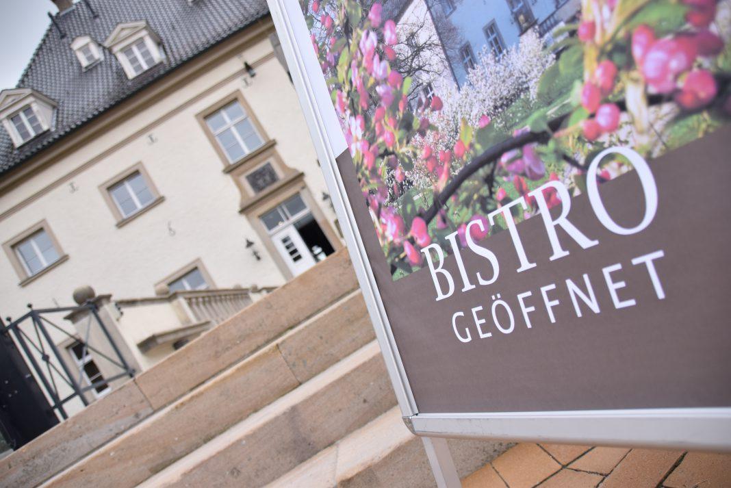 Neben dem Museum ist auch das Bistro von Haus Opherdicke wieder geöffnet. Foto: Max Rolke – Kreis Unna