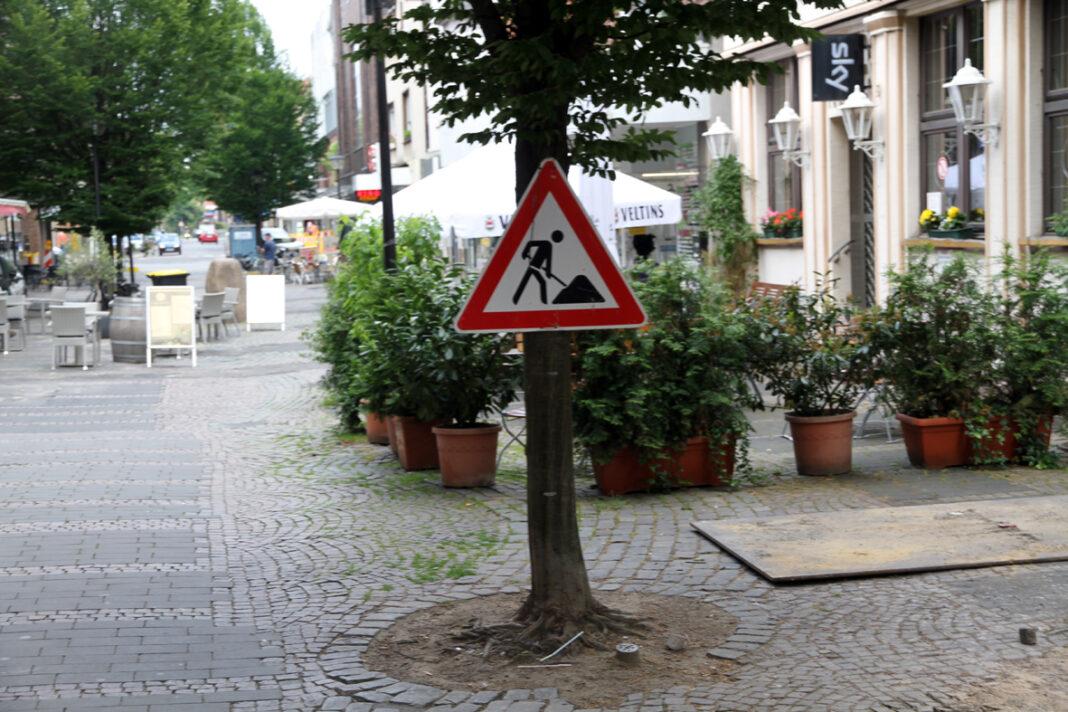 Der Umbau der Bonenstraße wird vorerst gestoppt. Foto: Wagner