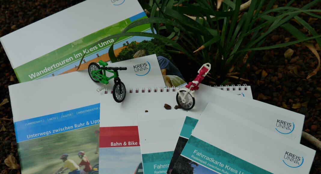 Die Fahrradkarte Kreis Unna ist neu aufgelegt und andere Tourentipps gibt es natürlich auch. Foto: Constanze Rauert – Kreis Unna