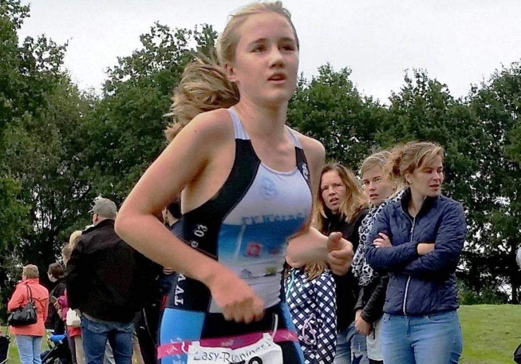 Triathletin Franzi Moll erhielt für ihre Leistungen in 2016 die Sportplakette. Wie so viele andere SportlerInnen konnte auch sie ihr Können 2020 nicht unter Beweis stellen. Foto: Privat