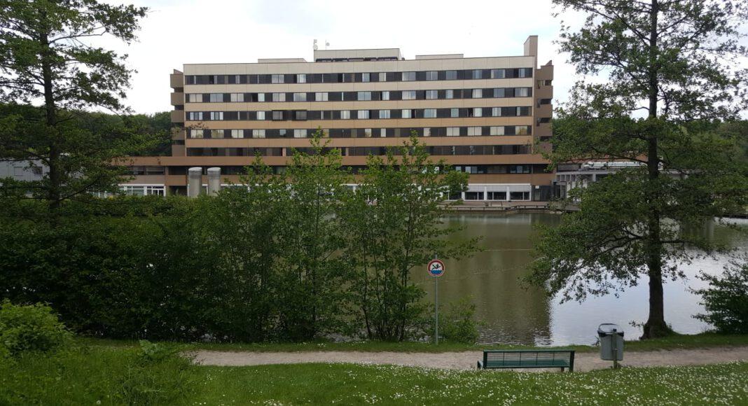 Das Krankenhaus in Werne. Foto: Wagner