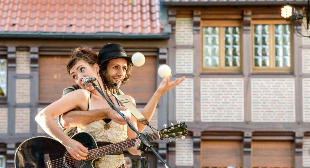 Felice & Cortes Young haben sich gleich bei ihrem ersten Auftritt in Werne 2016 beim Publikum eine echte Fanbase geschaffen. Foto: Nicole Friedrich/Werne Marketing