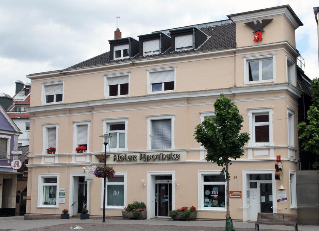 Das Haus am Markt 14 soll den Besitzer wechseln. Die Mieter bleiben. Foto: Timo Wagner