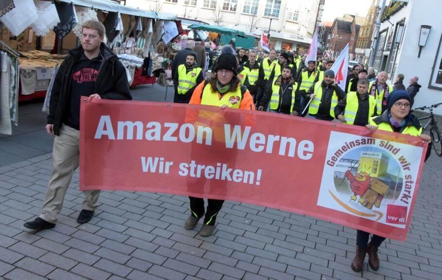 Heute und morgen wird bei Amazon gestreikt. Foto: Hillebrand (A)