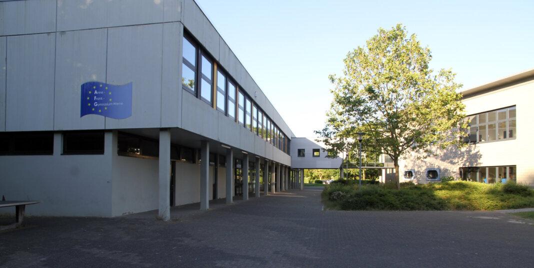 Das Anne-Frank-Gymnasium ist eine von fünf städtischen Schulen, die in den Medienentwicklungsplan eingebunden sind. Foto: Wagner