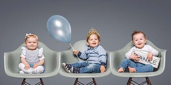 Die Gewinner-Babys der Aktion auf einen Blick. Foto: Sabrina Kiel / Photographie Susanne Kästner