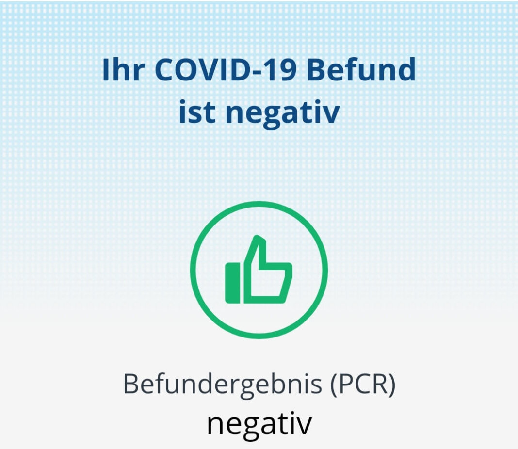 Aus dem Labor kam die Nachricht: Alle COVID-19-Befunde waren negativ. Foto:: Wagner