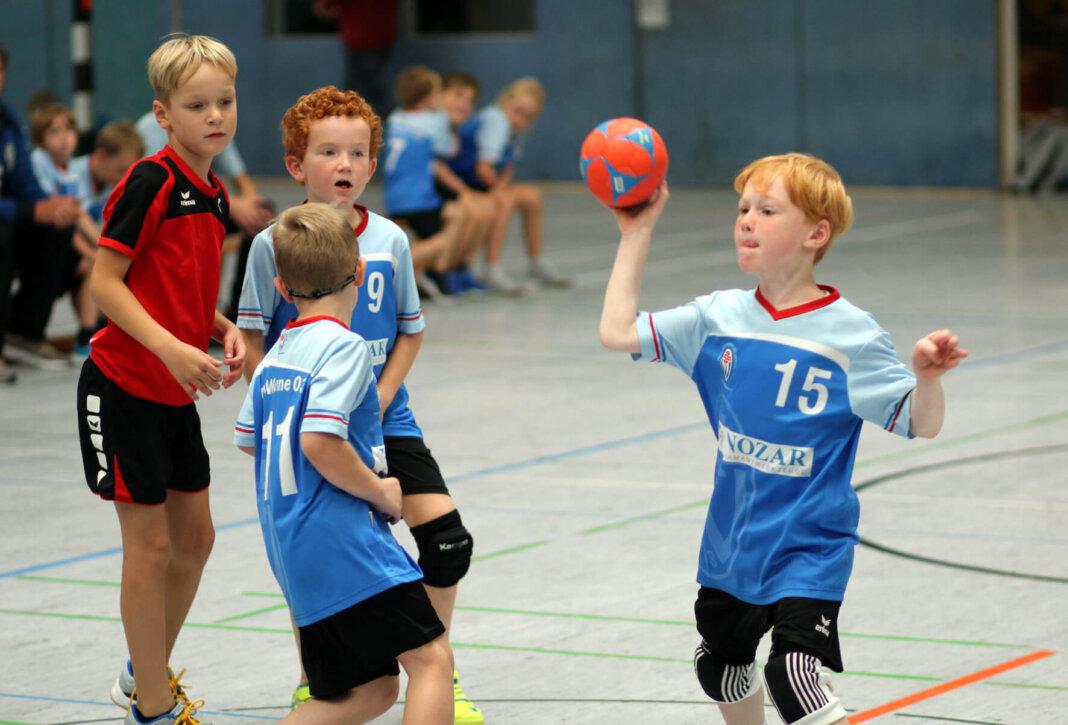Egal ob Handball, Fußball oder eine andere Sportart - die Erstklässler erhalten einen 50-Euro-Sportgutschein. Dieser Antrag der SPD wurde im Sportausschuss mit knapper Mehrheit angenommen. Foto: Wagner