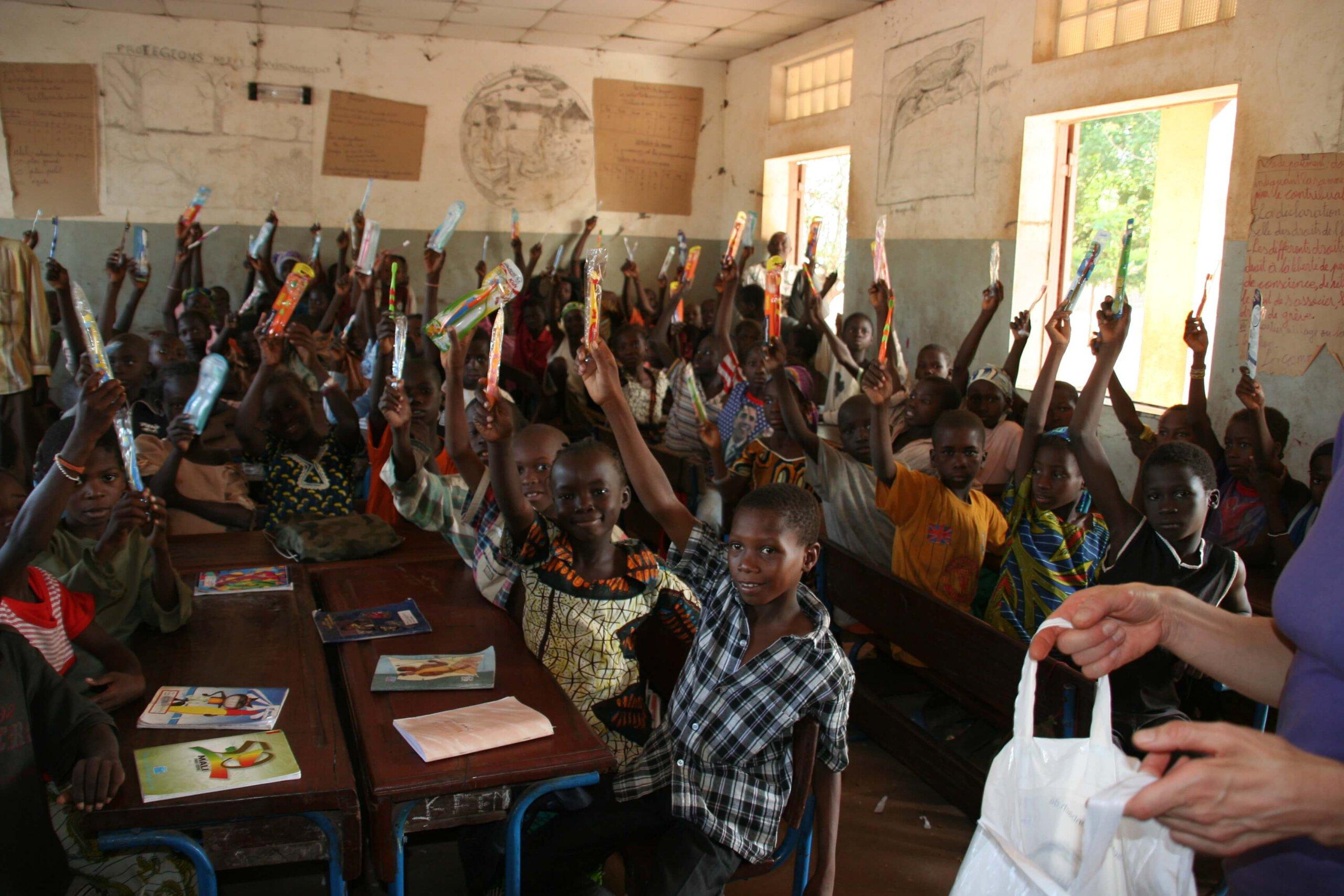 Der Lionsclub Werne an der Lippe spendet seit Jahren Gelder an ein Dorf in Mali. Jetzt steht ein Schulbau auf der Agenda. Foto: Lions
