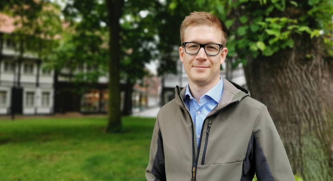 Johannes zur Bonsen ist seit wenigen Tagen Klimaschutzmanager der Stadt Werne. Foto: Nicole Friedrich/Werne Marketing