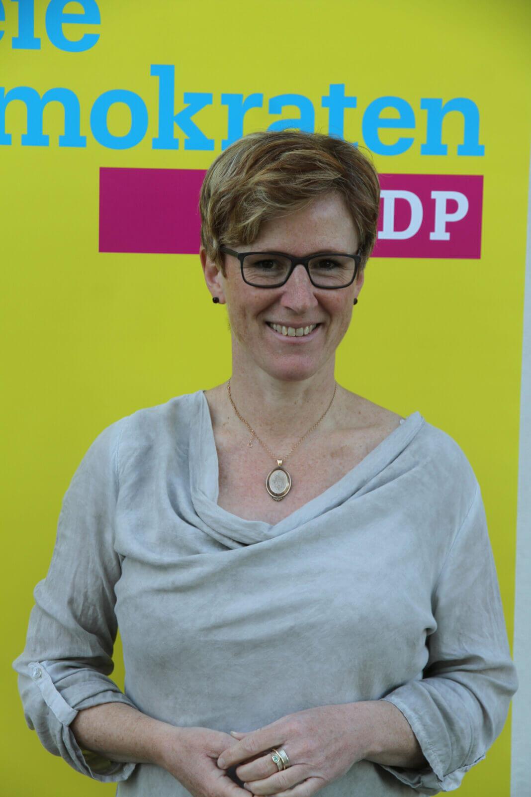 Fraktionsvorsitzende Claudia Lange. Foto: Wagner