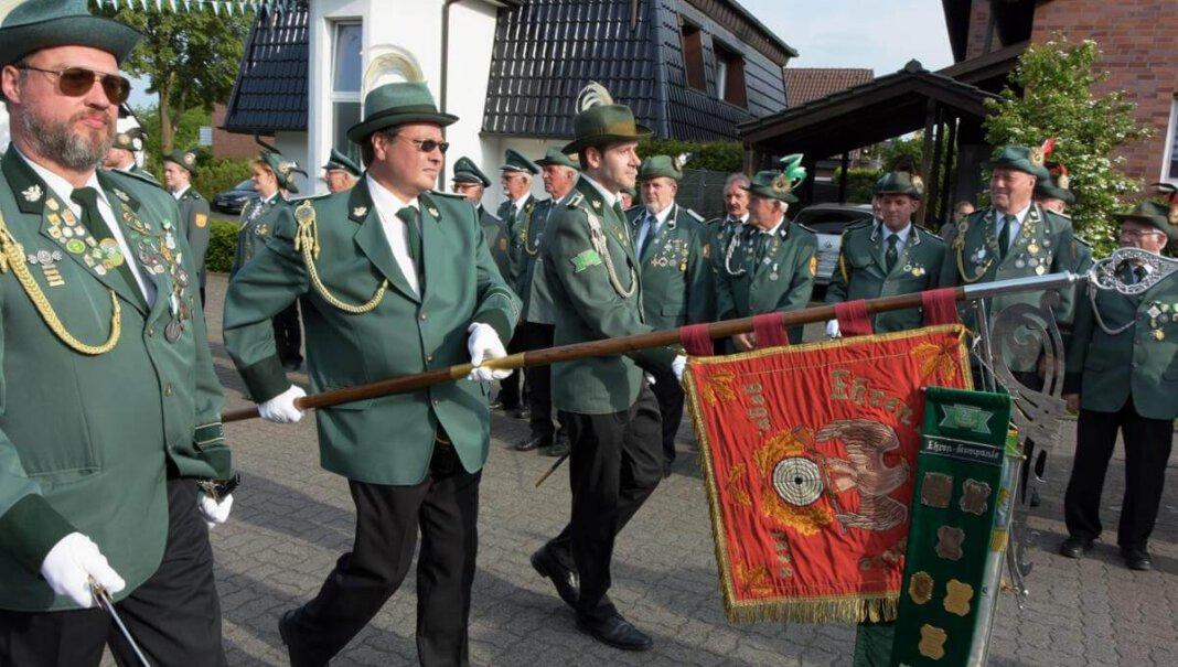 2018 fand zuletzt das Schützenfest in der Lütkeheide statt. In diesem Jahr fiel es Corona zum Opfer. Foto: Hillebrand (A)