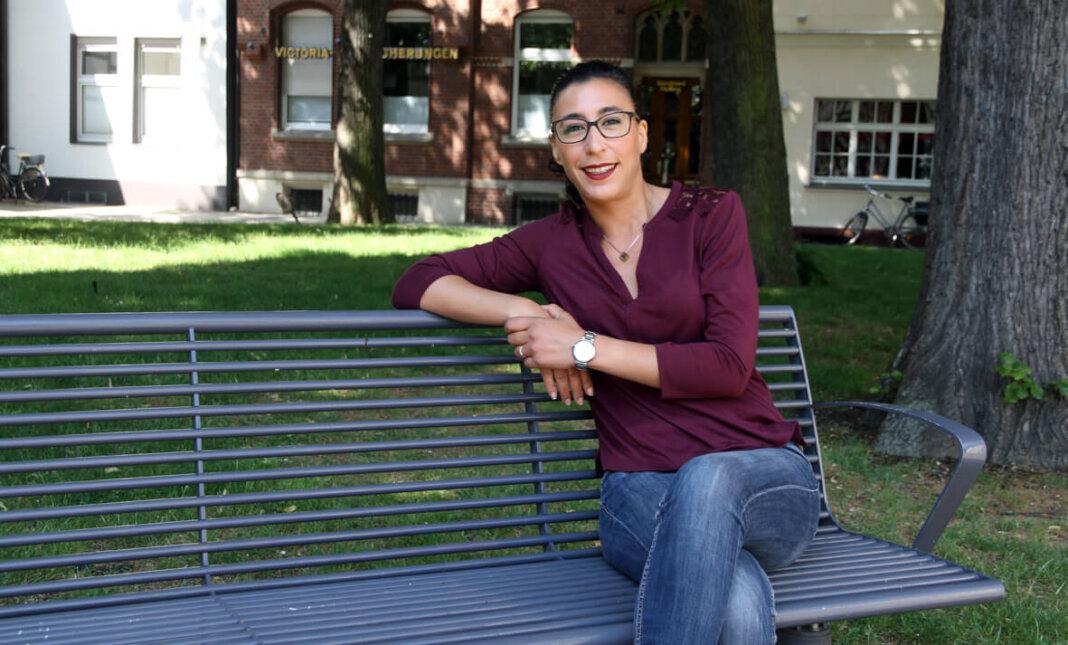 Farah El Maaroufi ist Teilhabemanagerin. Sie unterstützt Geduldete und Gestattete auch in Werne. Foto: Wagner