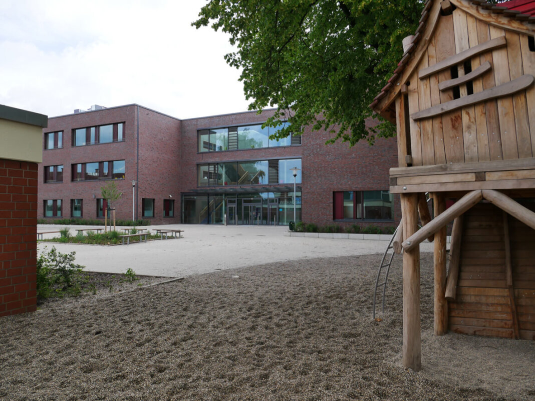 Die Wiehagenschule an der Stockumer Straße. Foto: Gaby Brüggemann