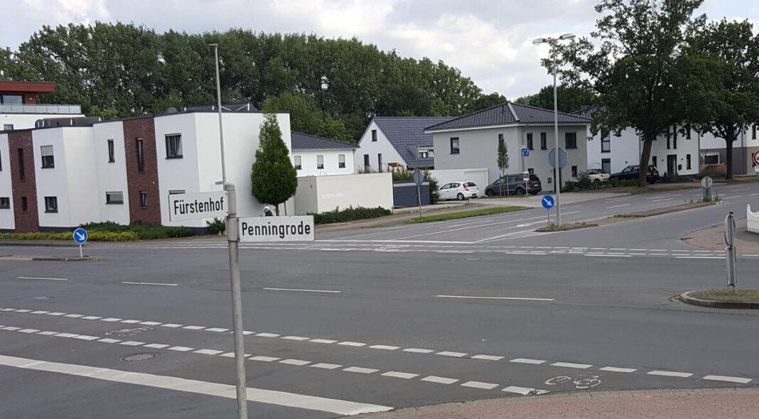 An dieser Stelle, Kreuzung Penningrode/Fürstenhof, sei in Zukunft auch ein Kreisverkehr denkbar. Foto: Wagner