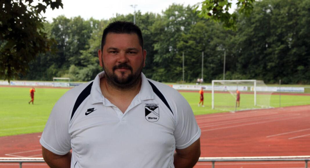 Mario Martinovic, Trainer von Eintracht Werne. Foto: Wagner