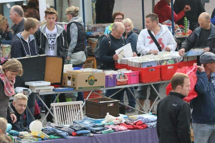 Der Flohmarkt in Werne findet in diesem Jahr nicht statt. Foto: Volkmer (A)