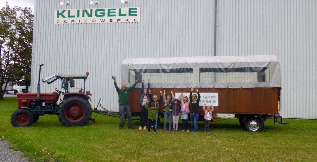 Viel Spaß haben 16 Mitarbeiterkinder beim Klingele-Ferienprogramm. Foto: Klingele