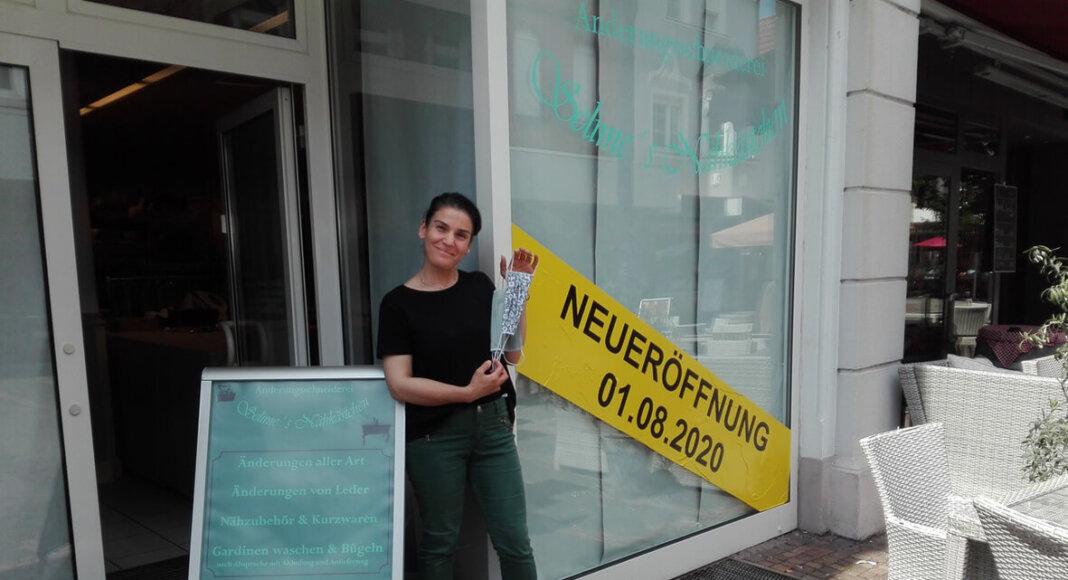 """""""Selime's Nähkästchen"""" öffnet am Samstag, 1. August, an der Bonenstraße. Foto: Dagmar Wensing"""