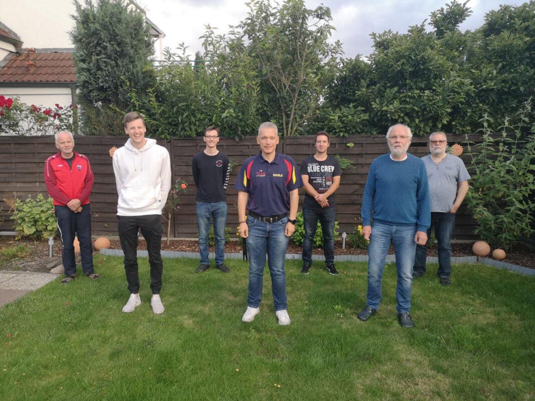 Der Vorstand der WSC-Tischtennisabteilung blickte zurück und plant die neue Saison. Foto: Privat