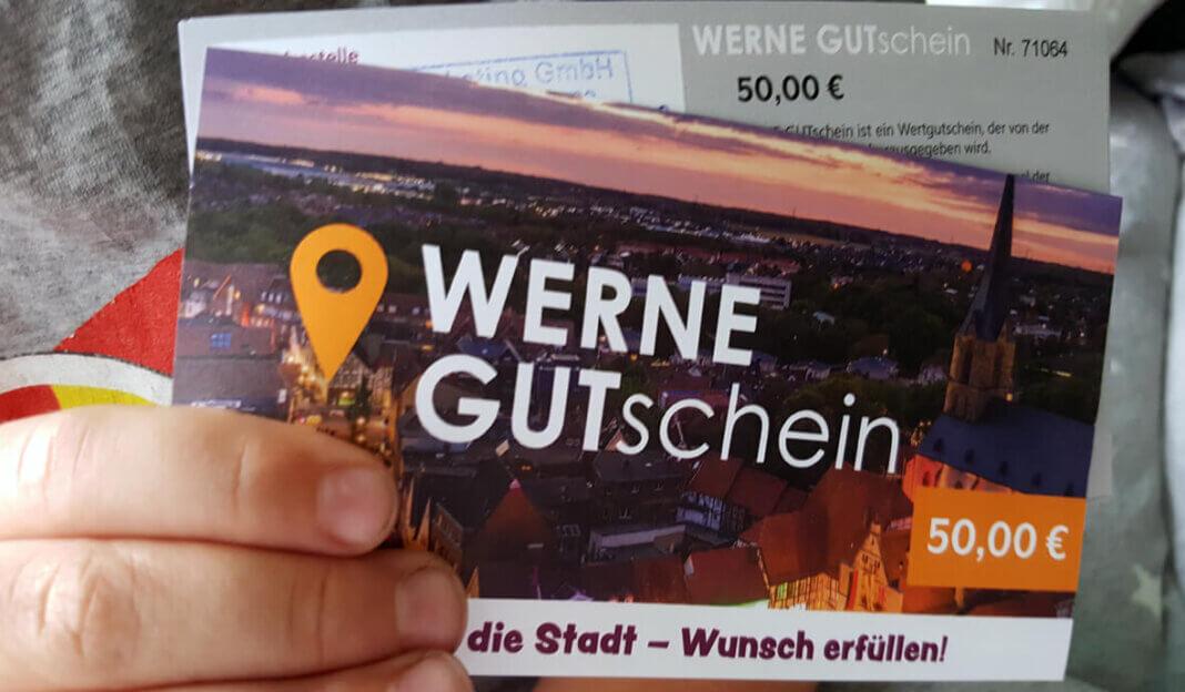 Der 50 Euro-Gutschein der Sonderedition ist bereits ausverkauft. Foto: Wagner