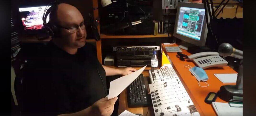 Moderator, Autor und Verleger: Magnus See spricht den WERNEplus Podcast. Foto: Wagner