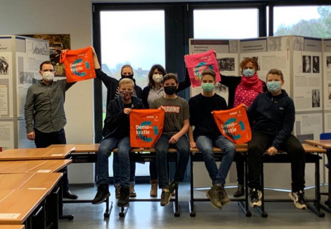 Die Aufrechterhaltung und teilweise Intensivierung der internationalen Beziehungen in Corona-Zeiten ist dem Anne-Frank-Gymnasium wichtig. Foto: AFG