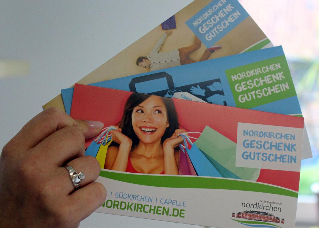 Während der Aktionszeit ab dem 29. Juni wurden mehr als 1.500 Nordkirchen Geschenk Gutscheine ausgestellt. Foto: Gemeinde Nordkirchen / A. Büscher