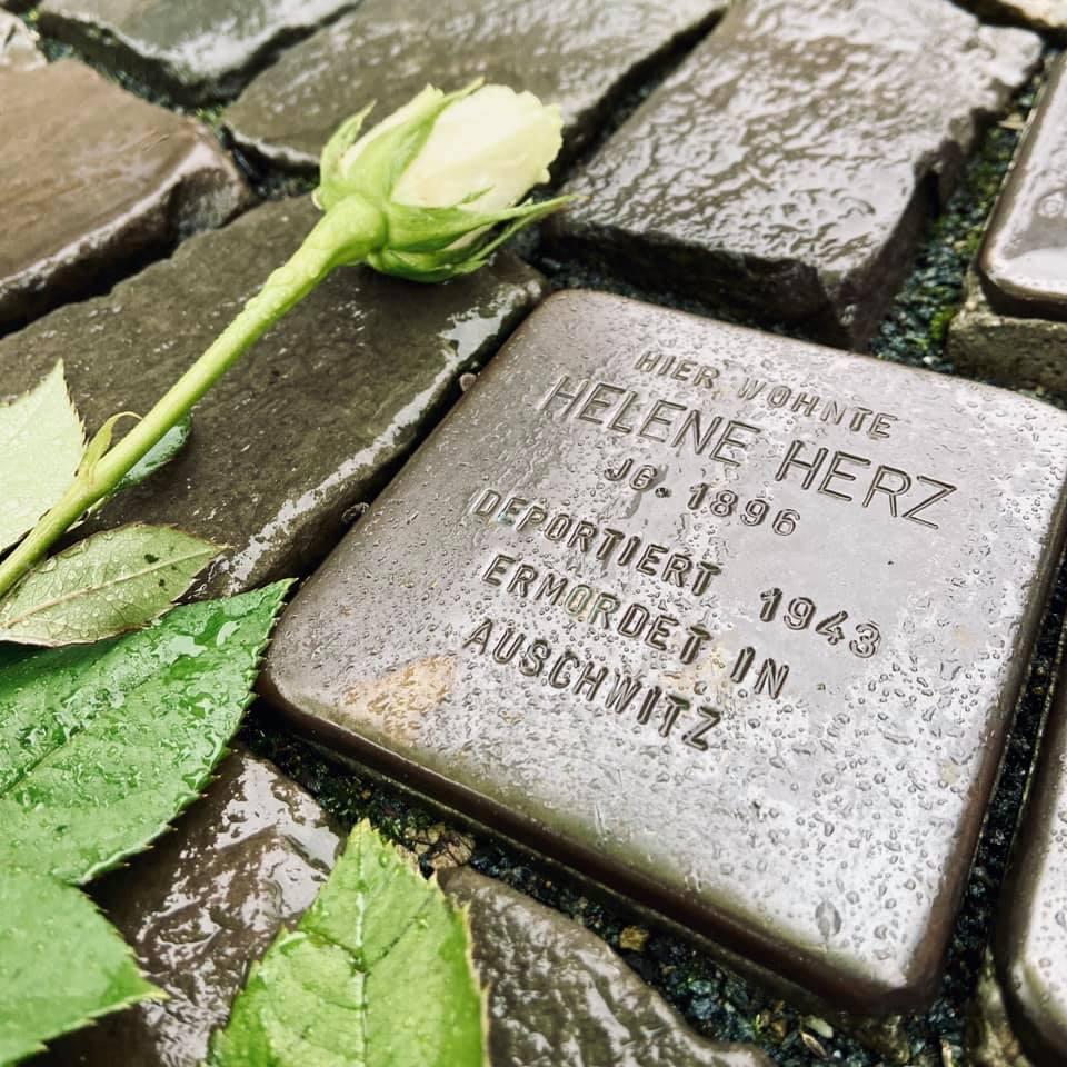 Der 27. Januar ist der offizielle Tag des Gedenkens an die Opfer des Nationalsozialismus. In Werne erinnern Stolpersteine an die Verbrechen der Nazis. Foto: Stadt Werne