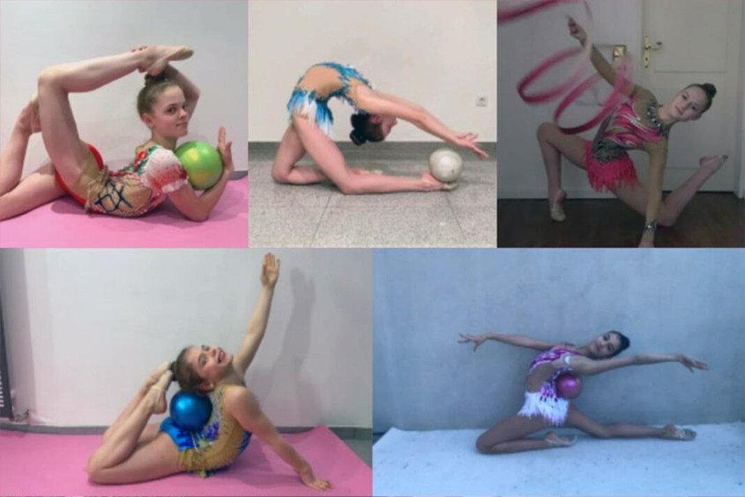 Sehr gute Platzierungen erzielten die Gymnastinnen des TV Werne beim Online-Wettkampf. Foto: Hohefeld