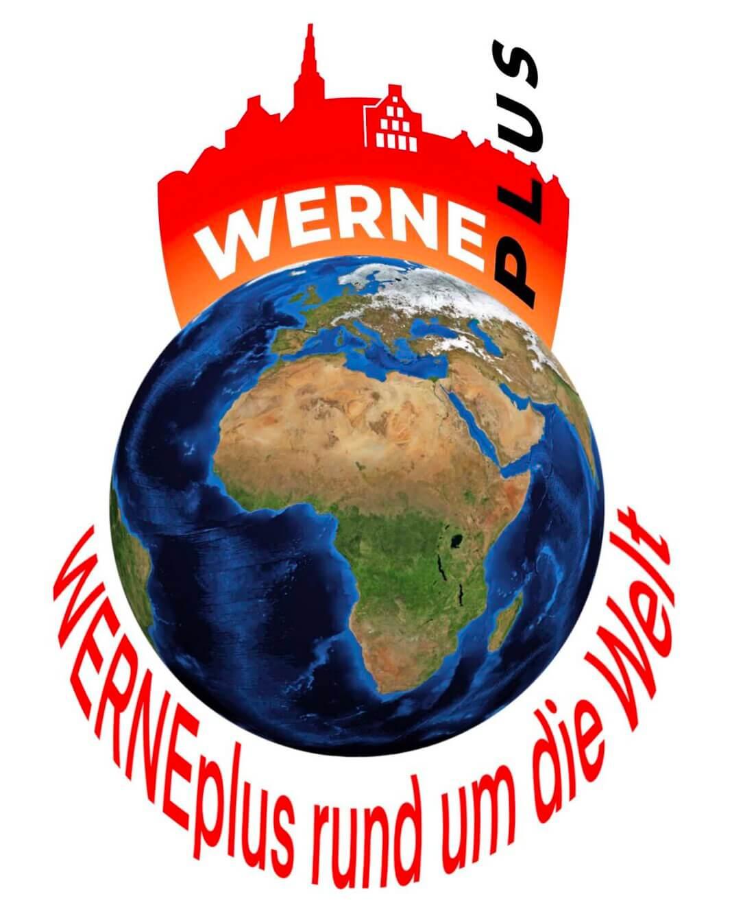 WERNEplus wird auf der ganzen Welt gelesen. Foto: pixabay / Montage: Wagner
