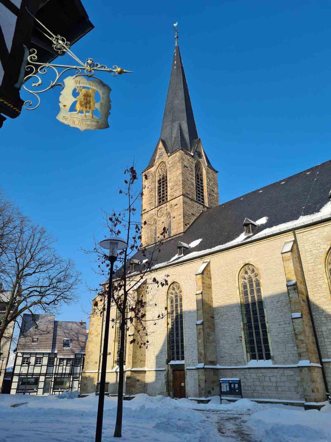 Werne ist Mitglied im Kreis der historischen Stadt- und Ortskerne. Foto: Wagner