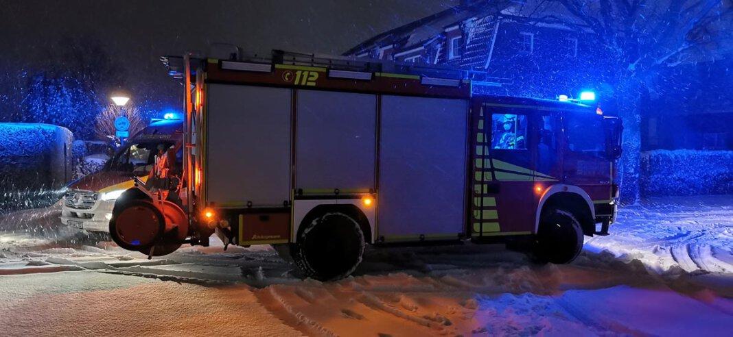 Eine ausgelöste Brandmeldeanlage entpuppte sich als Fehlalarm. Die Feuerwehr Werne berichtet von einer ruhigen Nacht. Foto: Feuerwehr Werne
