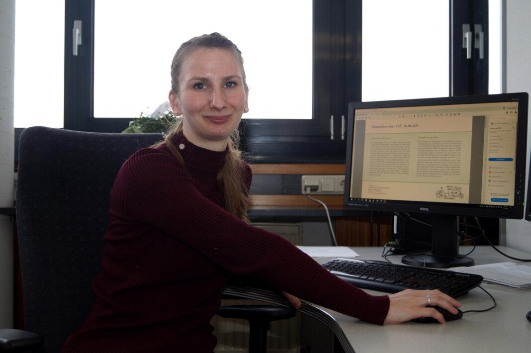 Lea Freese ist Klimaschutzmanagerin bei der Stadt Selm. Foto: M. Woesmann / Stadt Selm
