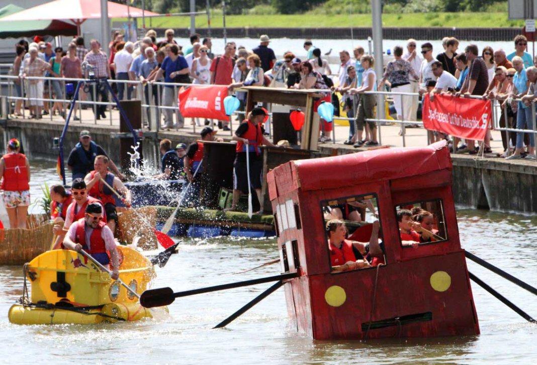 Am Freitag sind das Hafenfest und weitere Veranstaltungen im ersten Halbjahr 2021 in Bergkamen abgesagt worden. Archivfoto: Volkmer