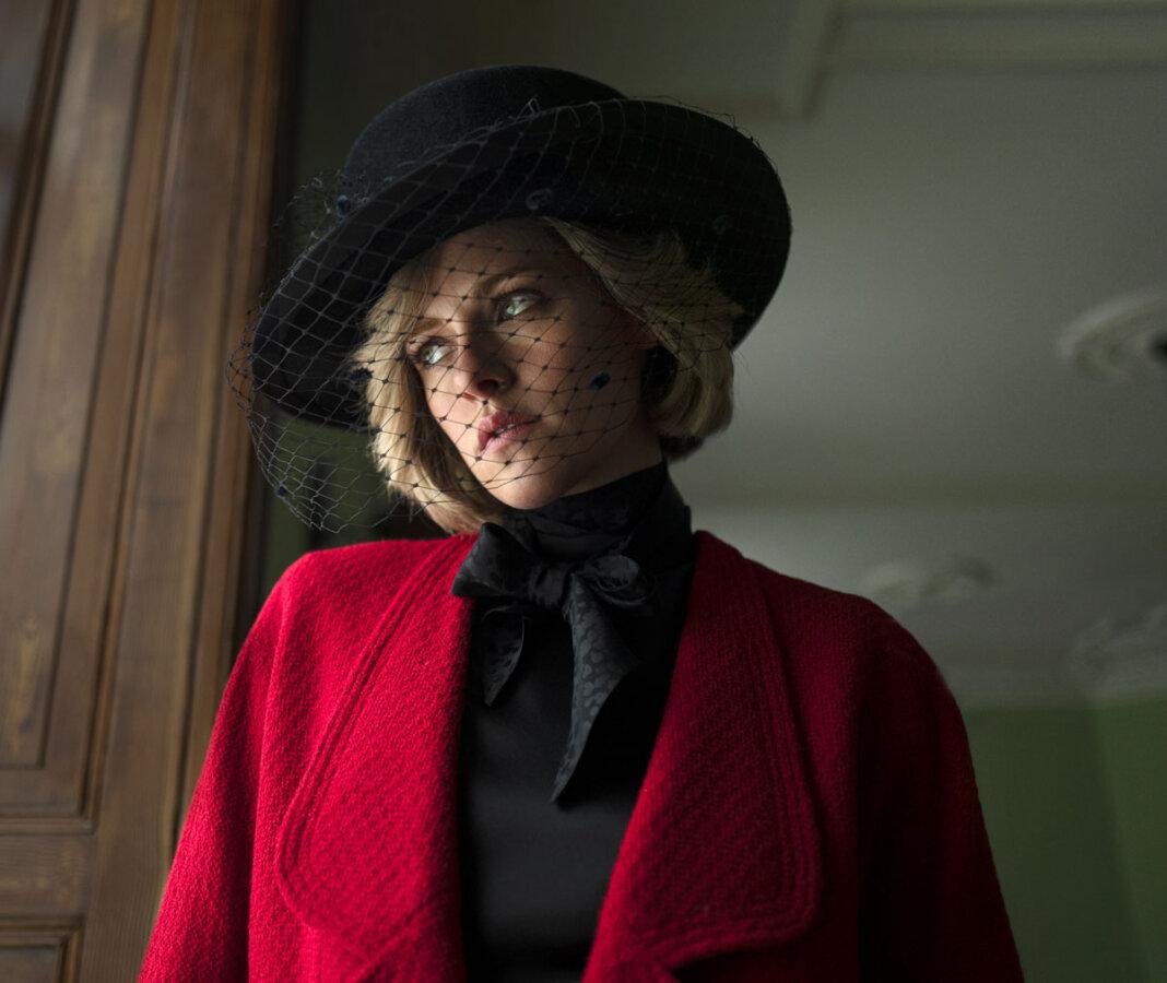 Kristen Stewart schlüpft in die Rolle von Lady Diana - unter anderem auch im Schloss Nordkirchen. Foto: Neon