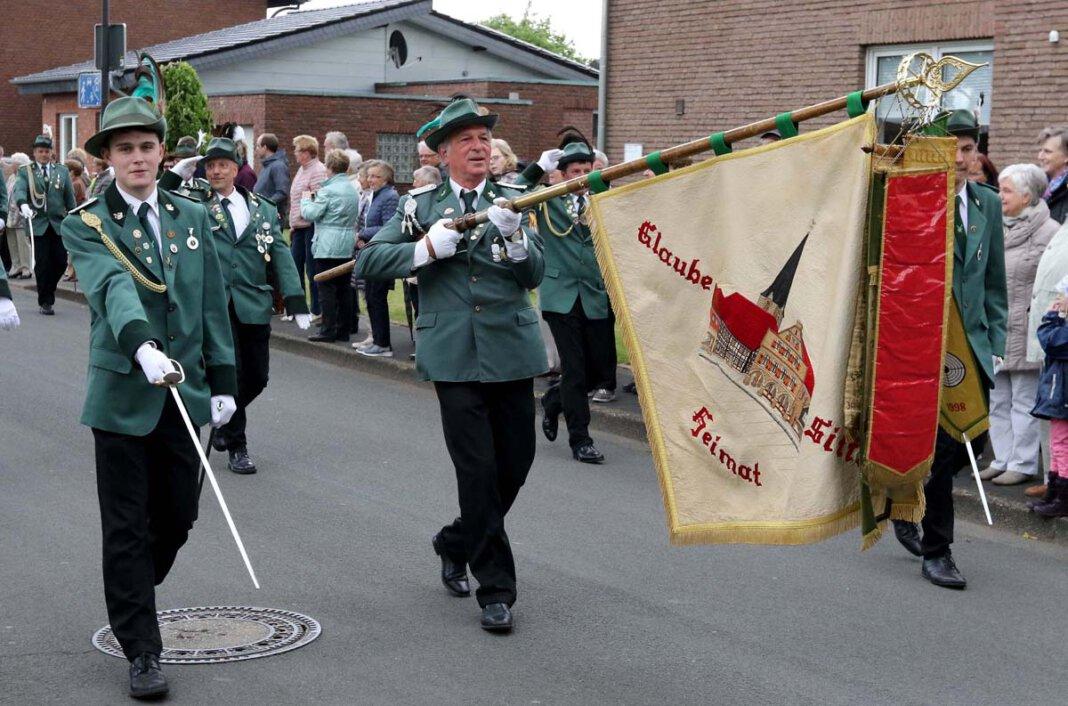 Die Schützenvereinigung an der Horne hat ihr Pfingstschützenfest 2021 ersatzlos gestrichen. Foto: Volkmer