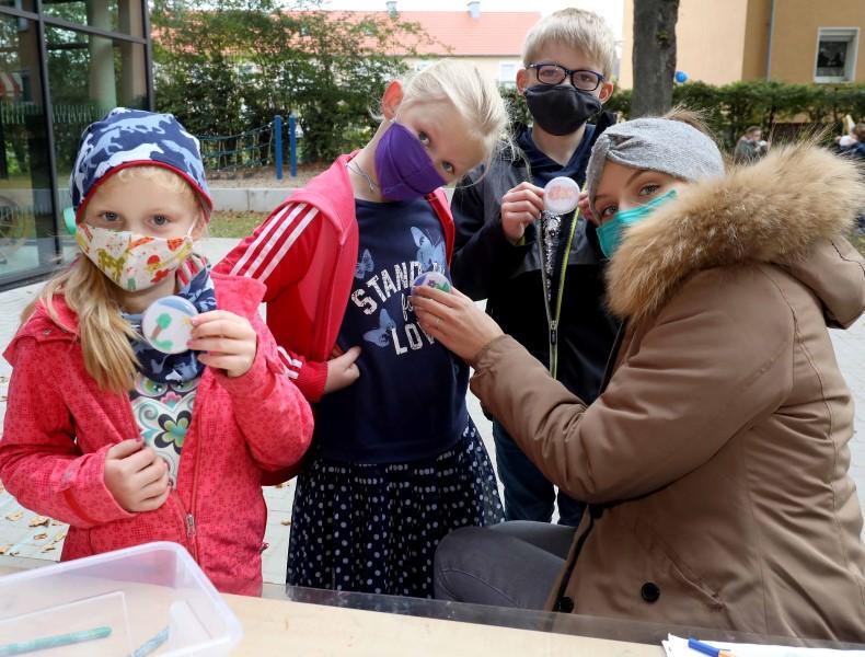 In einer Woche beginnt nach wochenlangem Distanzunterricht auch in der Wiehagenschule die schrittweise Rückkehr in die Klassenräume. Foto: Volkmer