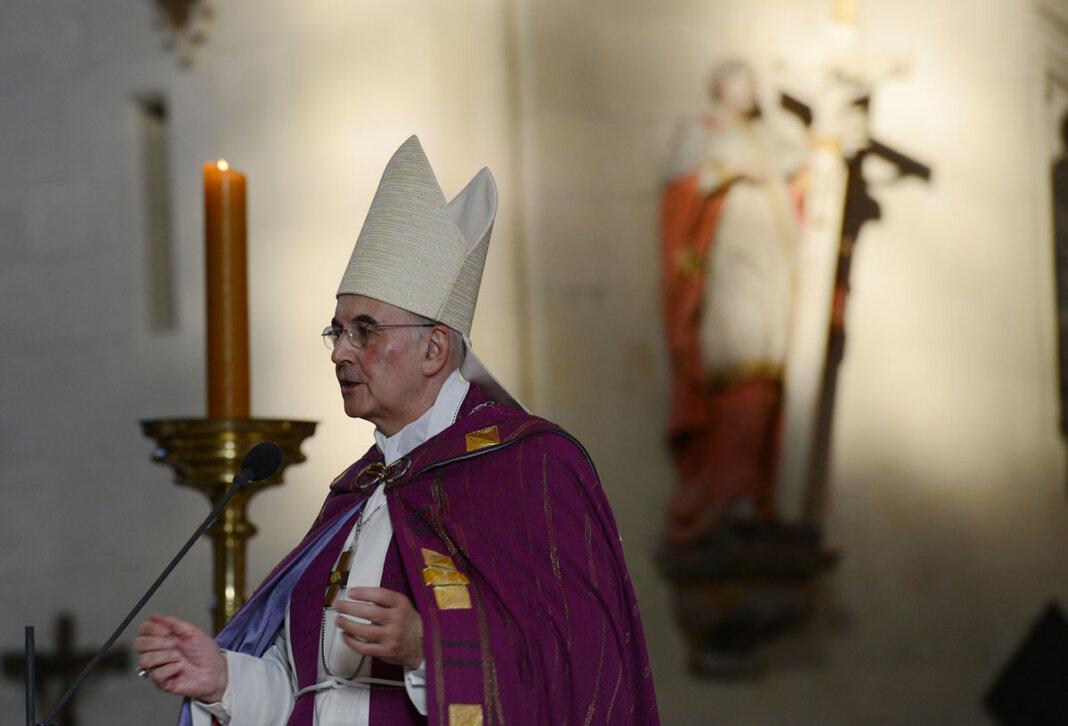 Bischof Felix Genn hat am Sonntag des seligen Kardinals von Galen, dessen Todestag sich am 22. März zum 75. Mal jährt, gedacht. Foto: Bistum Münster