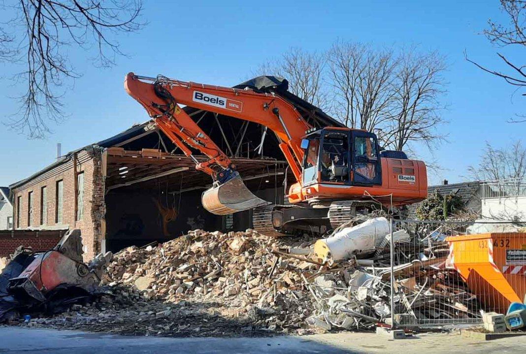 Die alt ehrwürdige Jahnturnhalle muss Wohnbebauung weichen. Foto: Gaby Brüggemann