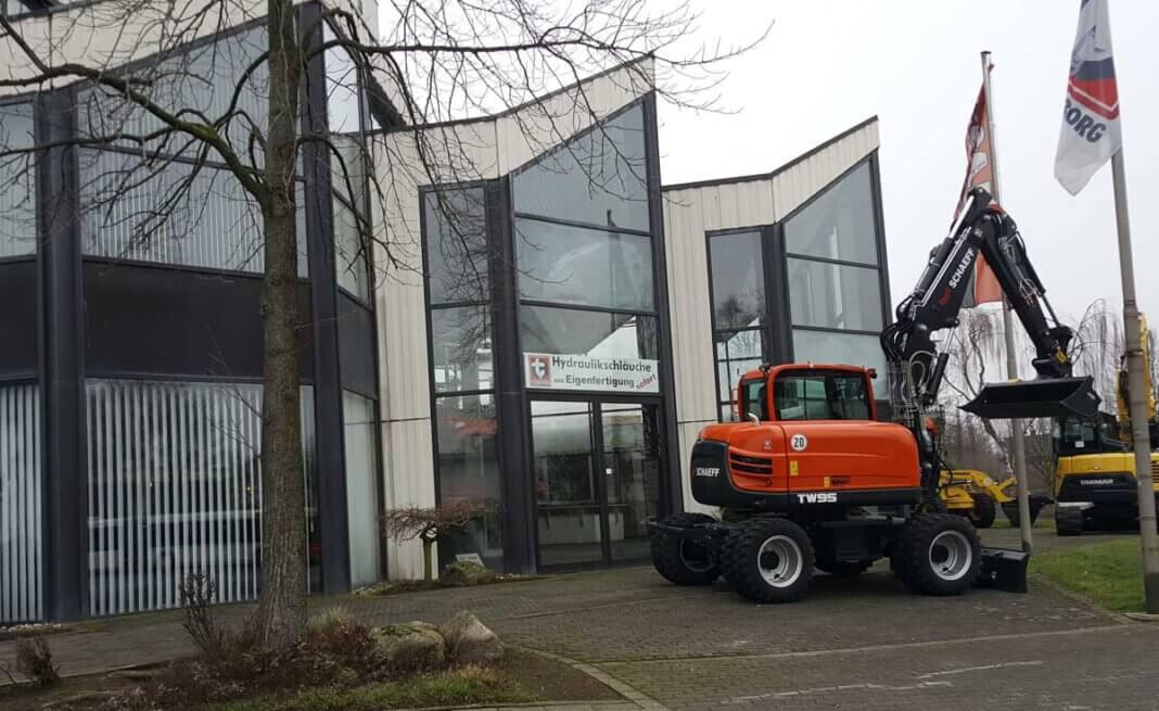 Die Tecklenborg GmbH und Co. KG am Schemmelweg plant den innerstädtischen Umzug. Auf dem Gelände soll anschließend ein Wohnquartier entwickelt werden. Im Ausschuss für Stadtentwicklung am 9. März wird das Projekt vorgestellt. Foto: Wagner
