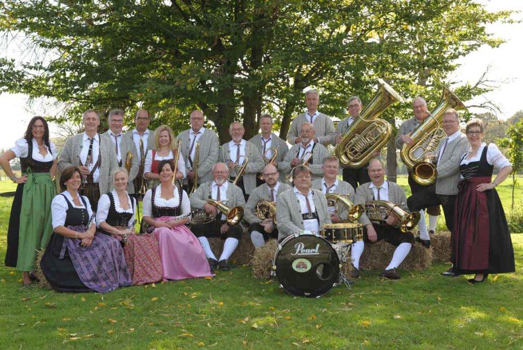 Das Salinenkonzert mit den Baumberger Musikanten aus Havixbeck wurde abgesagt. Foto: Privat