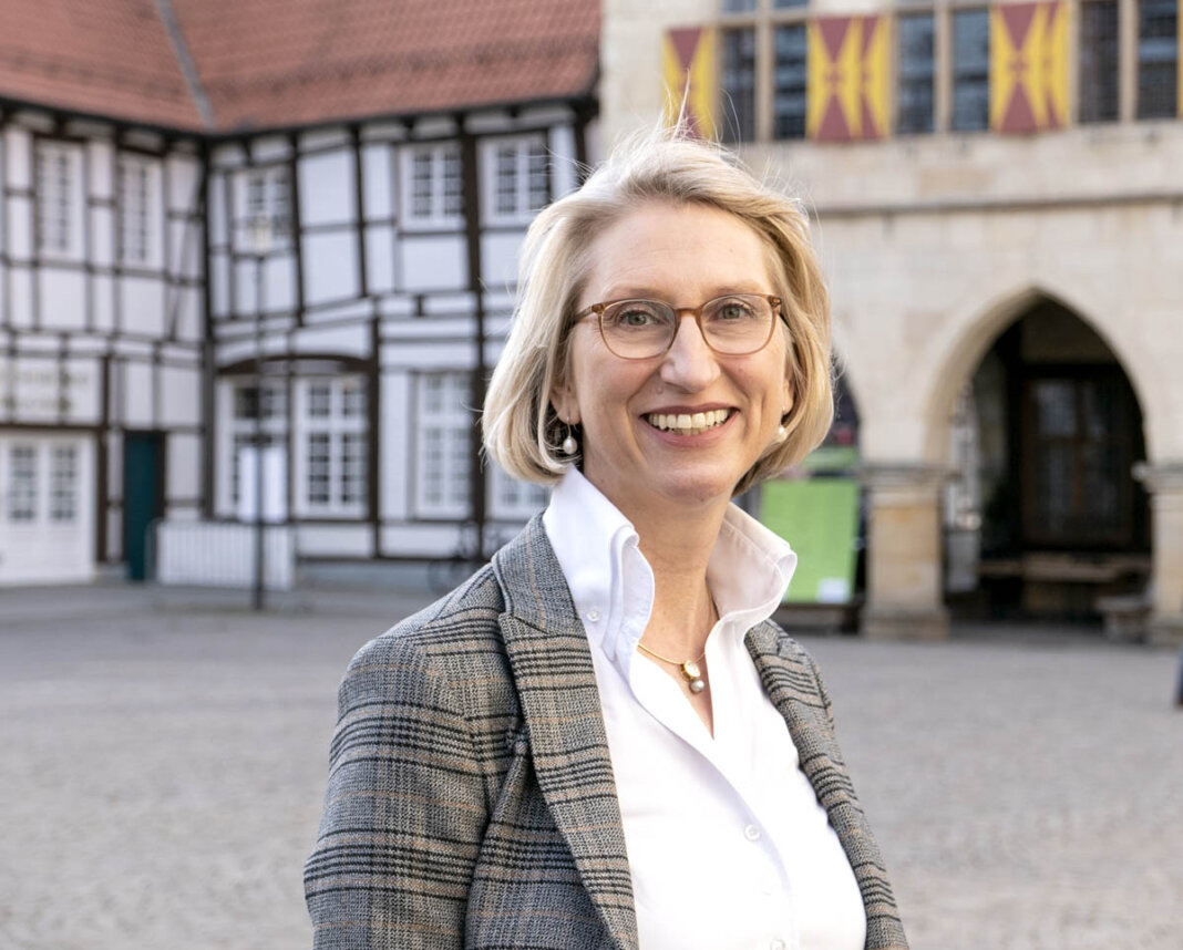 Carolin Brautlecht übernimmt am 1. Juni die Position der Geschäftsführerin der Wirtschaft und Marketing Soest GmbH. Foto: Nicole Friedrich / Werne Marketing