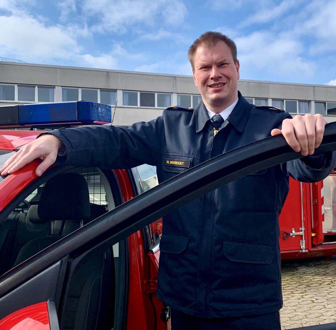 Wechselt von der Mosel an die Lippe: Dr. Christian Märkert wird der neue Leiter der Feuerwehr Lünen. Foto: Christian Märkert