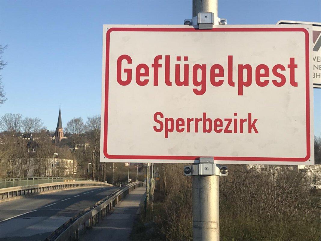 Der Geflügelpest-Sperrbezirk, der auch Bereiche von Fröndenberg/Ruhr betrifft, wird am Freitag, 30. April, aufgehoben. Foto: Birgit Kalle – Kreis Unna