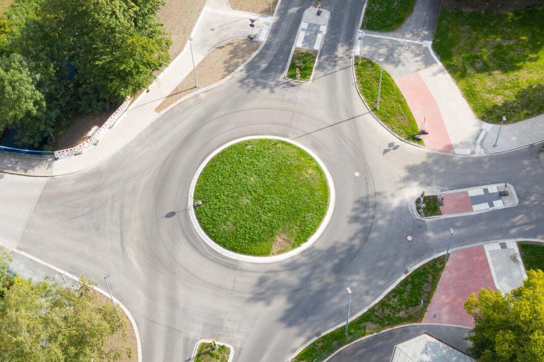Eine Skulptur soll den neuen Kreisverkehr an der Münsterstraße/Burgstraße/Becklohof aufwerten. In Kürze wird darüber politisch beraten. Foto: Kreativshooting/Thomas Schütte