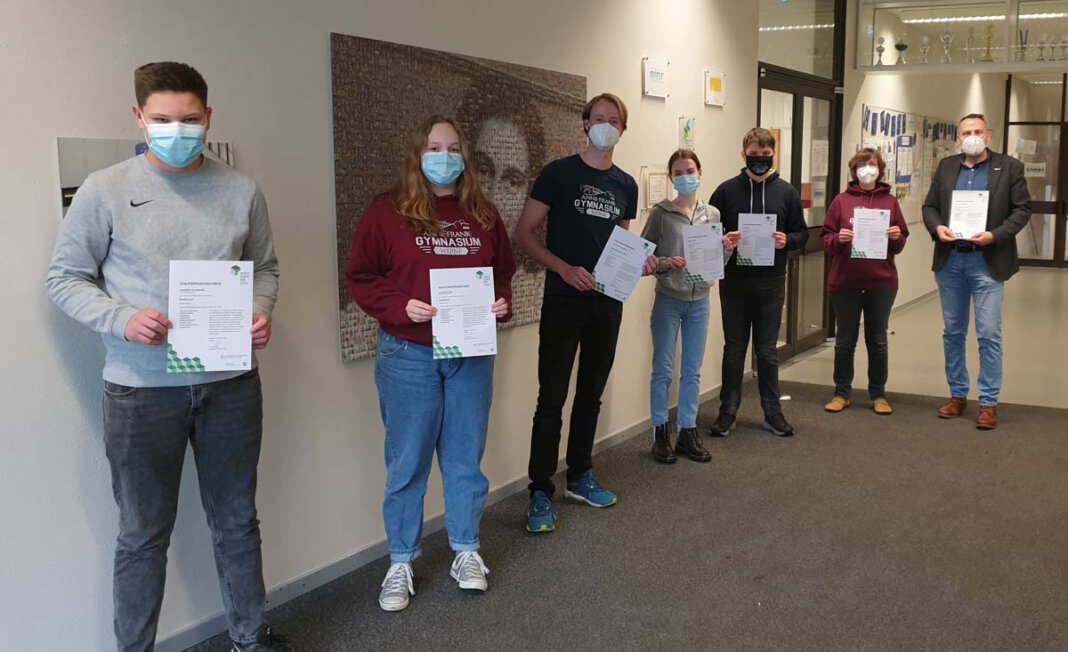 Das Anne-Frank-Gymnasium hat Medienscouts ausbilden lassen. Foto: AFG