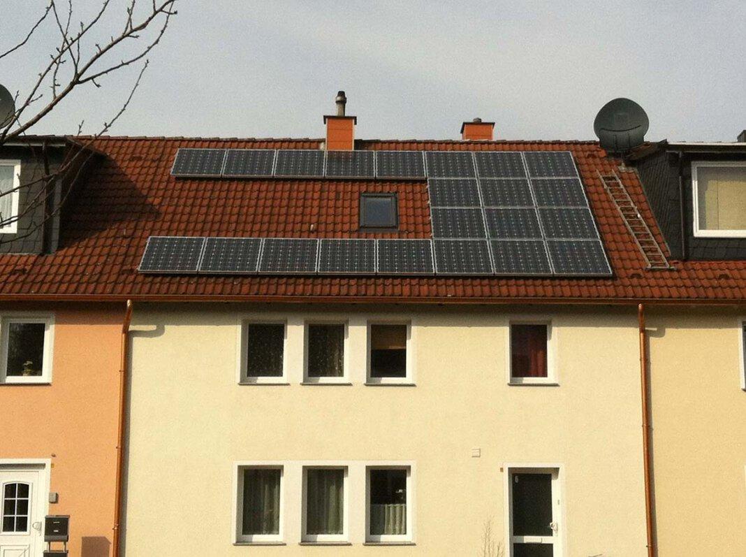 Werne zählt bei einer Ausnutzung der Sonnenenergie von 1,1 bis 4,4 Prozent zu den Schlusslichtern. Das soll sich ändern. Symbolfoto: pixabay