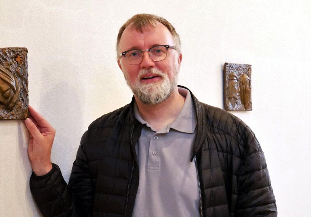 Pfarrdechant Jürgen Schäfer war zu Gast im digitalen Café Future. Foto: Gaby Brüggemann