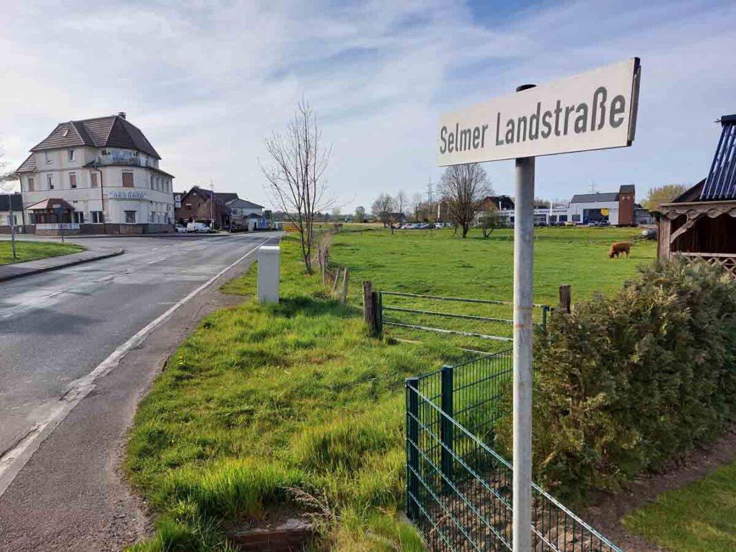 Auch der Abschnitt der Landesstraße 507 in Richtung Selm (Selmer Landstraße) soll fahrradfreundlicher werden. Foto: Wagner
